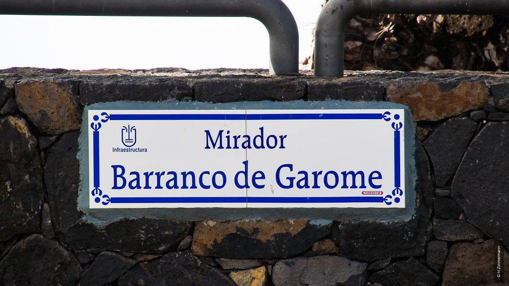 Mirador de Garome