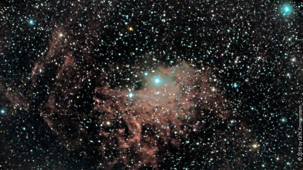 IC405 Flaming Star Nebula