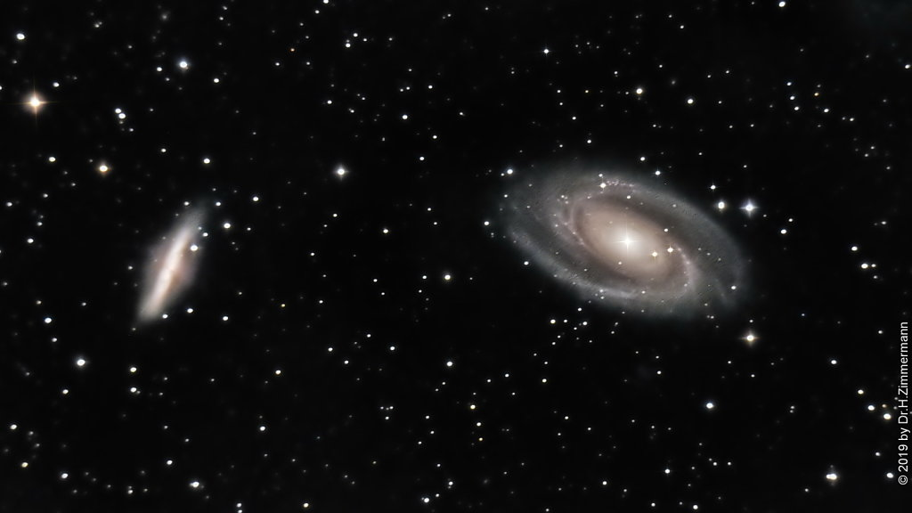 M81 - Bode Galaxies