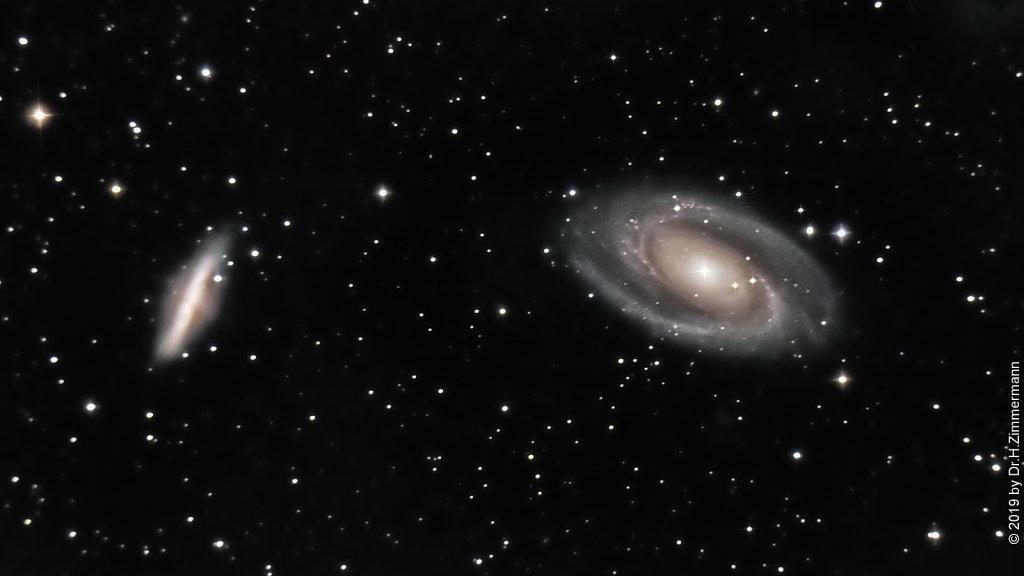 M81 - Bode Galaxies
