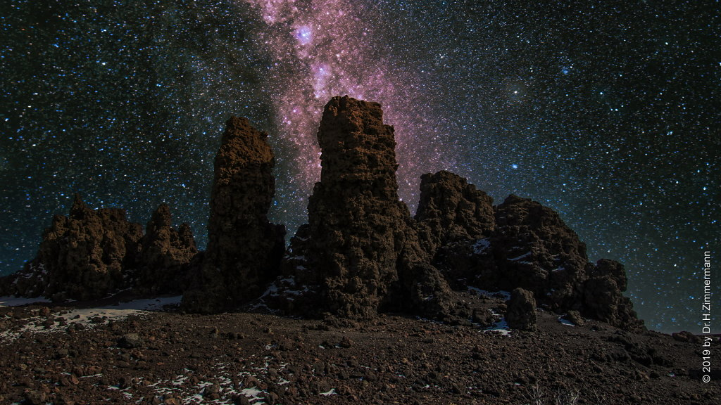 Milky Way at the Roque de los Muchachos